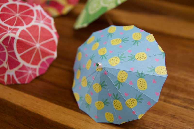 How to make a paper umbrella that open and closes(New version ... | 533x800